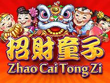 Спешите играть в супер слотс Чжао Цай Тонг Цзы в Вулкан